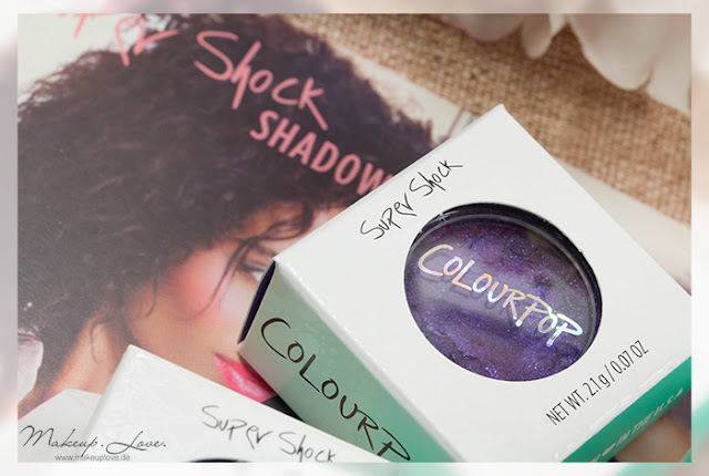 Colourpop Bill, Cricket & Bae Super Shock Shadows Swatches