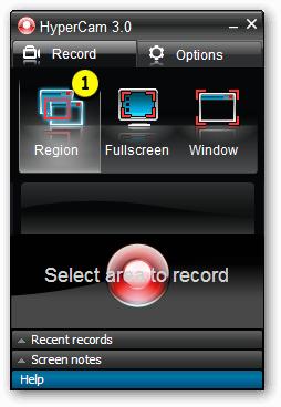 تحميل برنامج تصوير الشاشة 2014 فيديو وصور بدقة عالية HyperCam Screen
