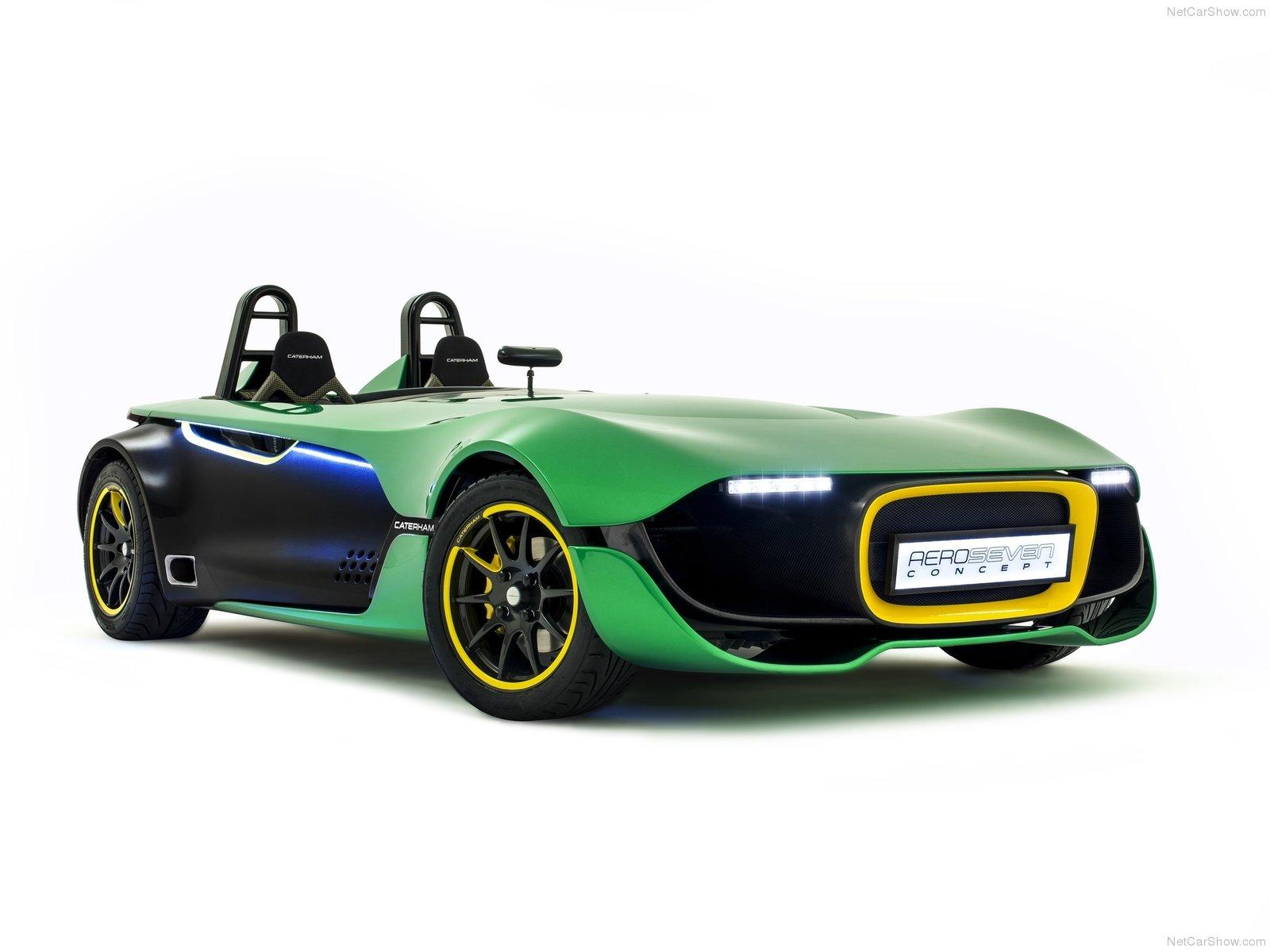 Hình ảnh xe ô tô Caterham AeroSeven Concept 2013 & nội ngoại thất