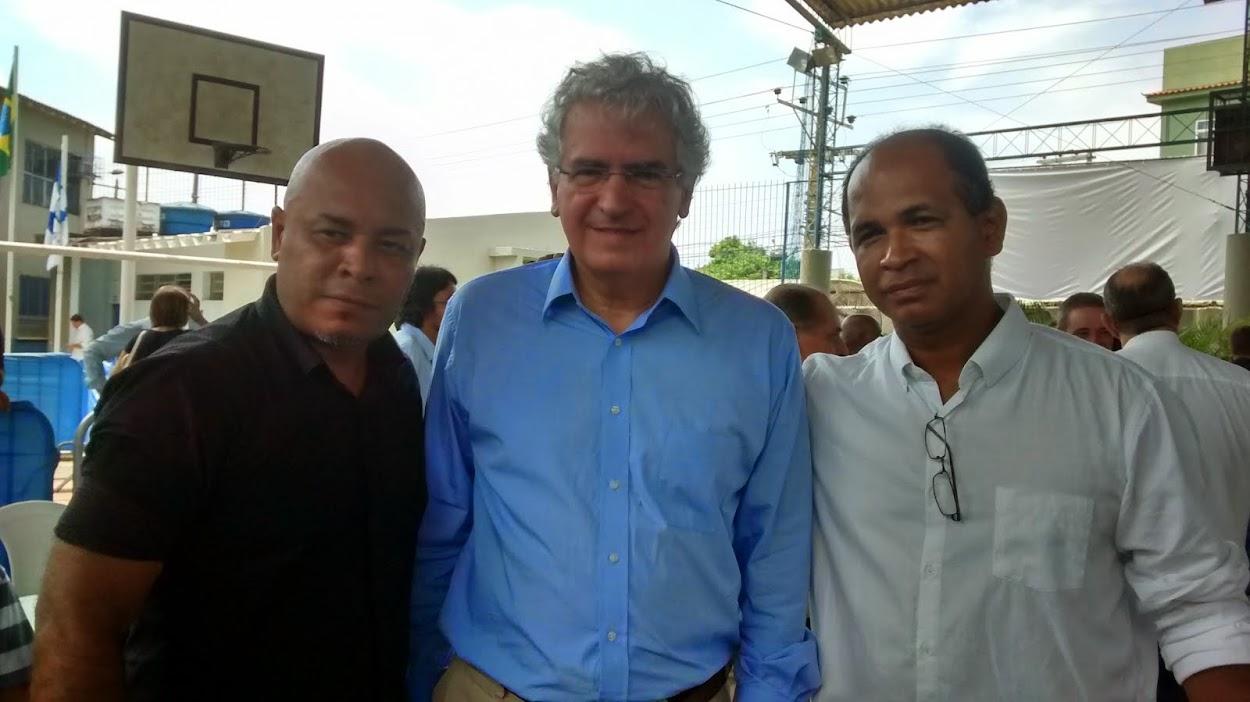 Com Subsecretário de Estado Vicente Loureiro