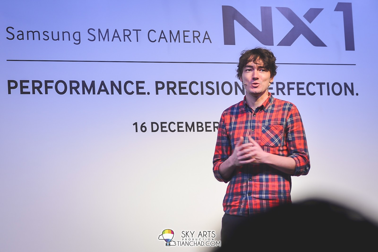 Marcus Reichmann, National Geographic Channel Photographer did a presentation with Samsung NX1