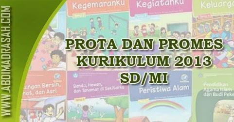 Download Prota Dan Promes Untuk Kelas 1 Dan 4 Sd Mi Kurikulum 2013 Abdi Madrasah