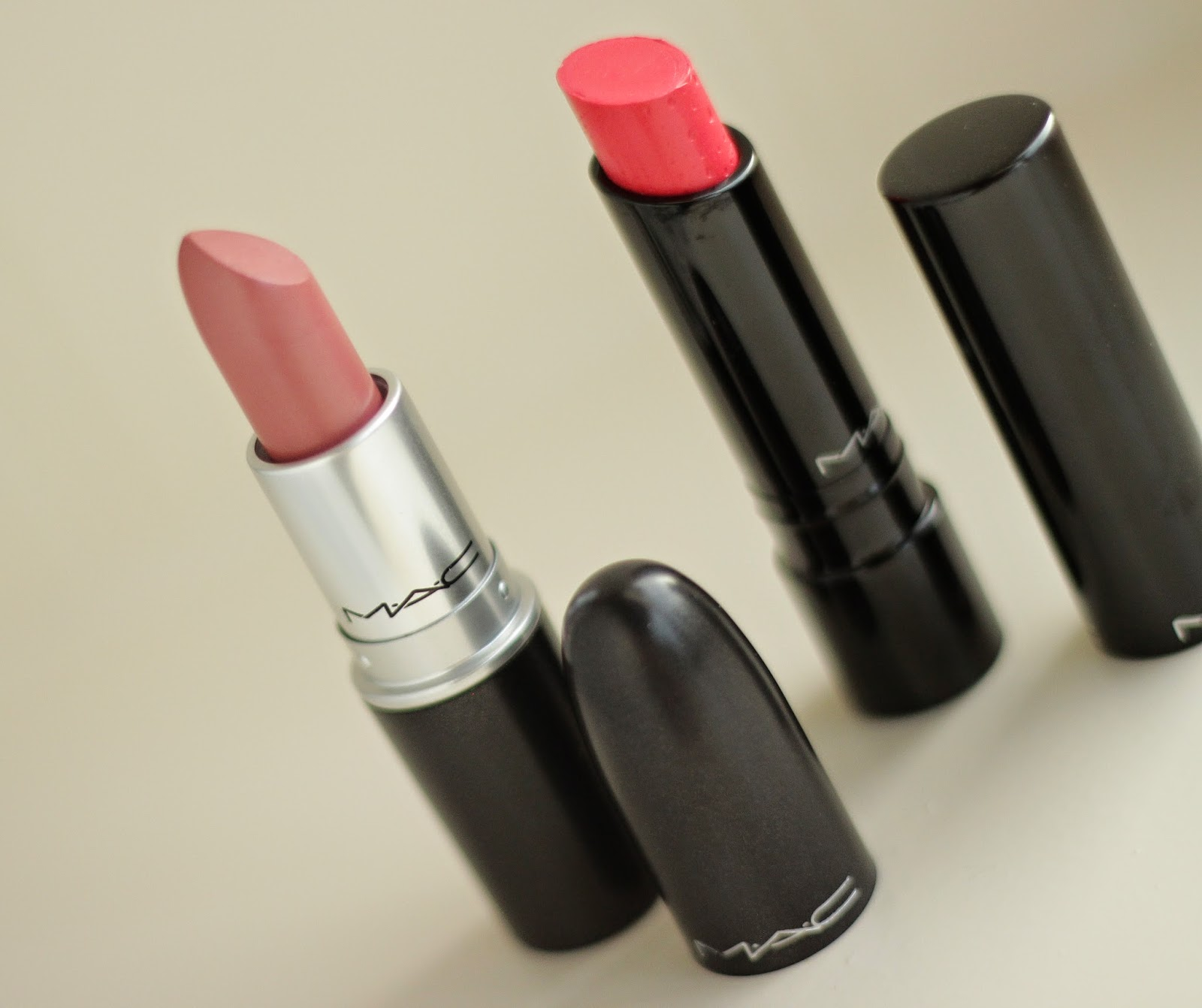 new in mac lipsticks