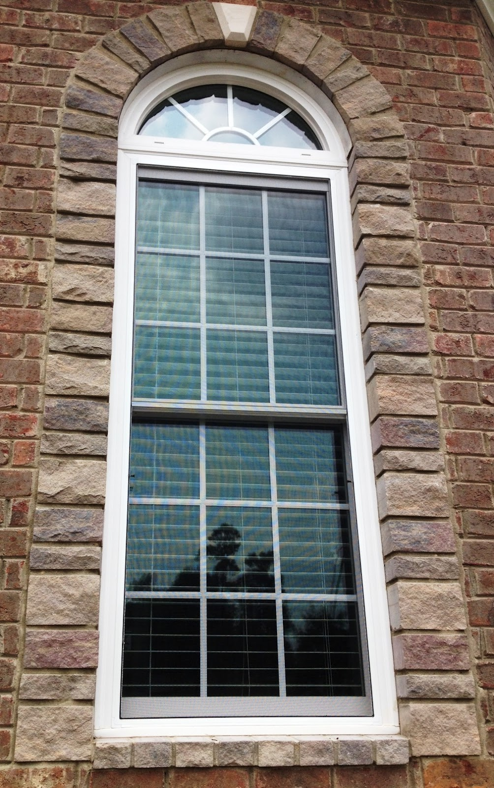 Palladium Stone Around Window : Old carriage way sanford nc
