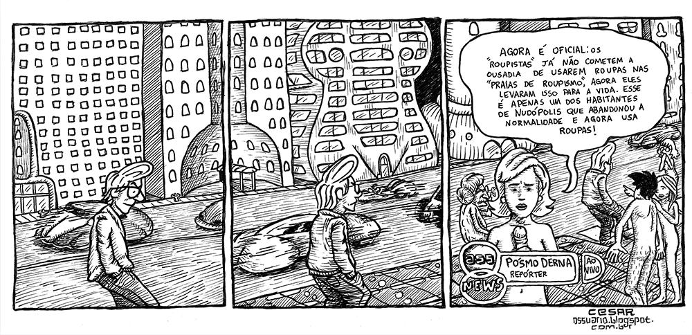 Pelados na cidade - Cesar Andrade