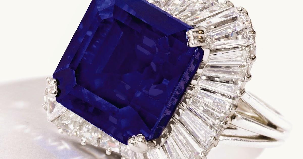 Jewelry News Network: 28-Carat Kashmir Sapphire Sets World ...