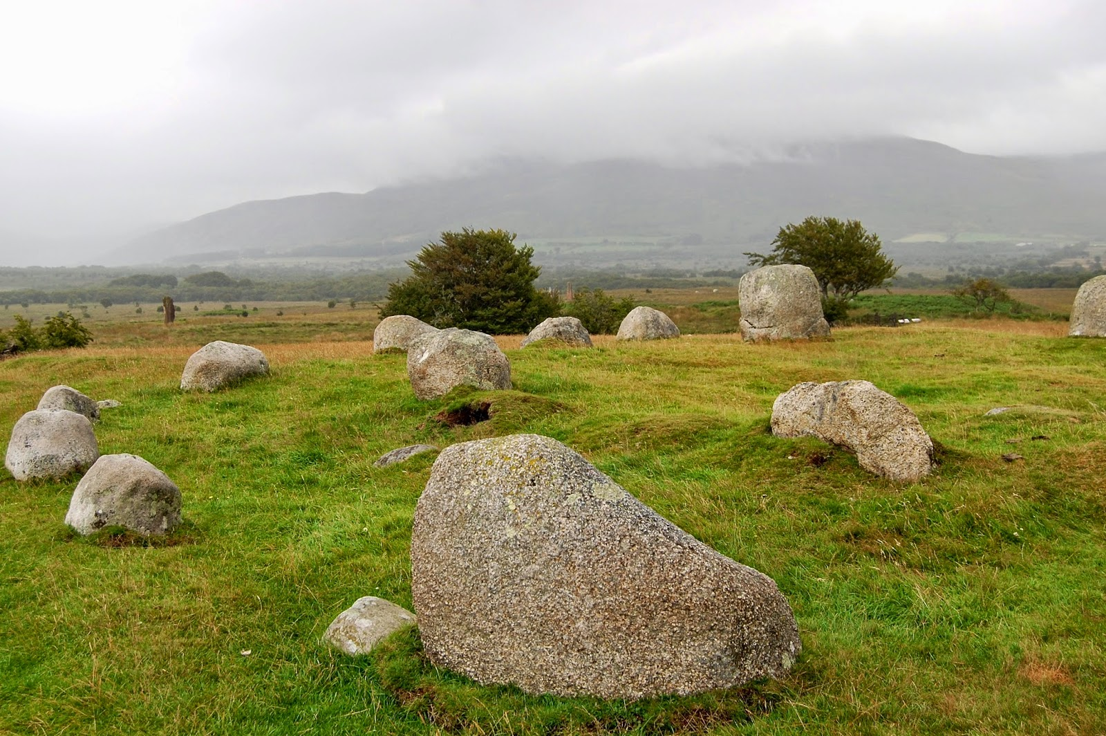 Double stone circle at Machrie Moor