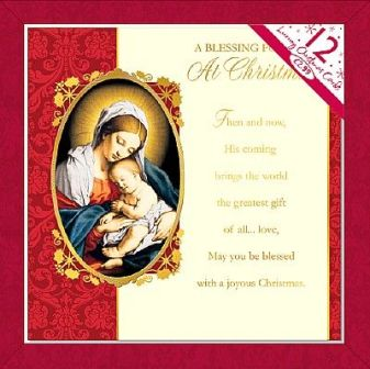 catholic christmas cards traditional