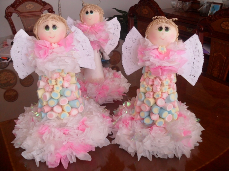 Decoracion de bautizos con angeles parte 3 - Decoracion para bautizo de nino y nina ...