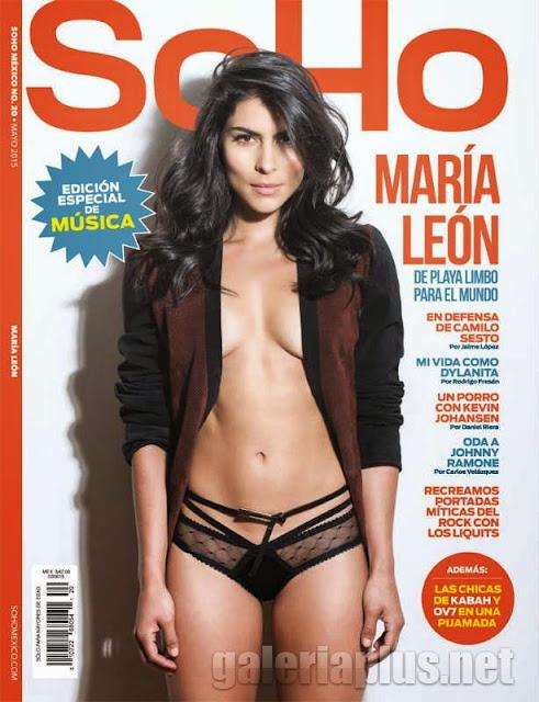 María León Revista SoHo México Mayo 2015 PDF