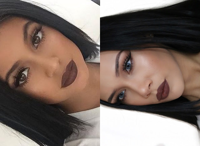 Kylie Jenner, Kylie, makeup, tutorial, inspired, brown lips, TrueBrownK dupe, beauty, makeup, youtube, catherine delves, youwishyou, KOKO Couture, hair extensions, review,