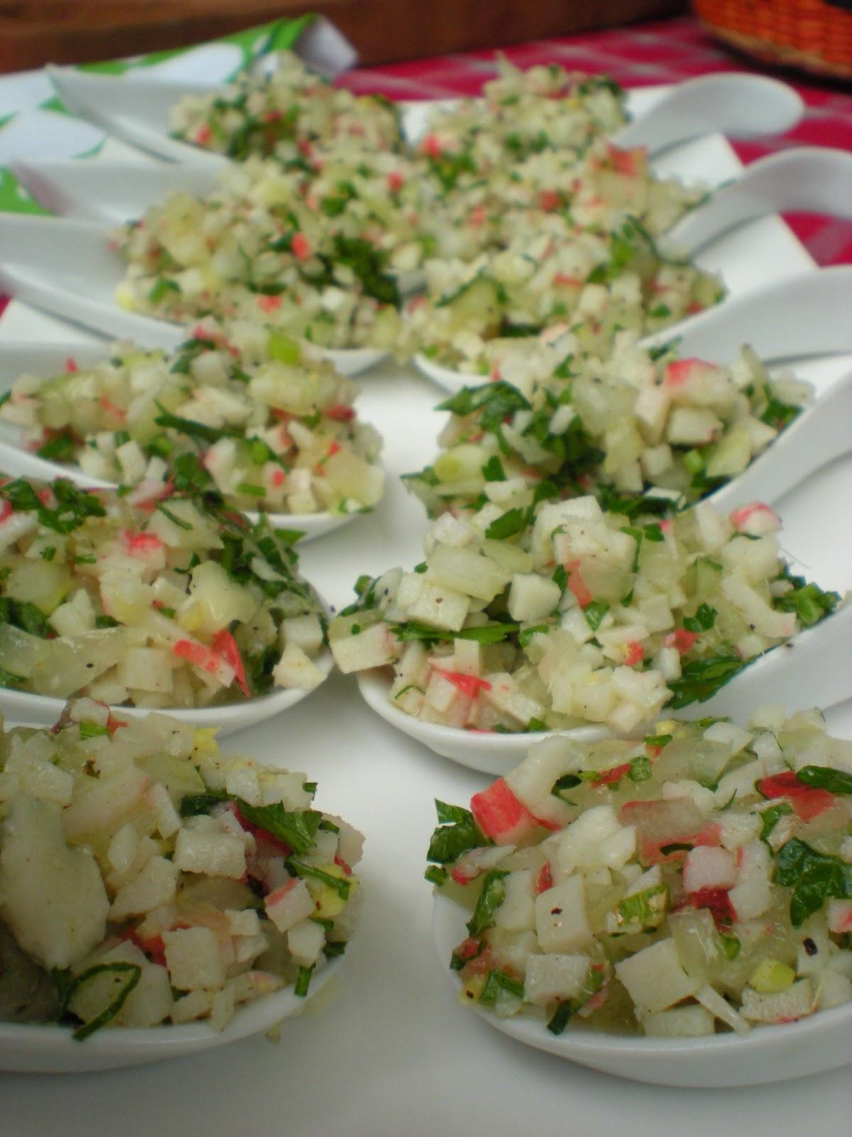 Mi Bistec: Ceviche de Kanikama