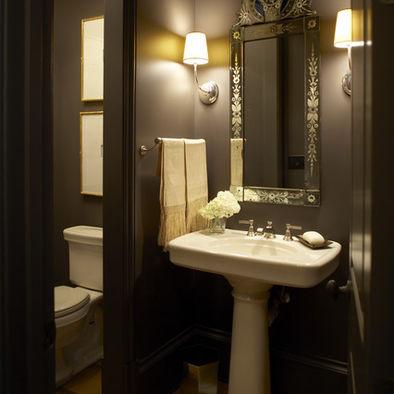Victorian style bathroom vanity