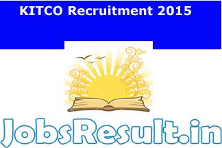 KITCO Recruitment 2015