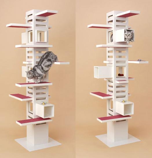 Le design selon Quan: Un arbre à chat, est-ce utile ? Pourquoi pas ?