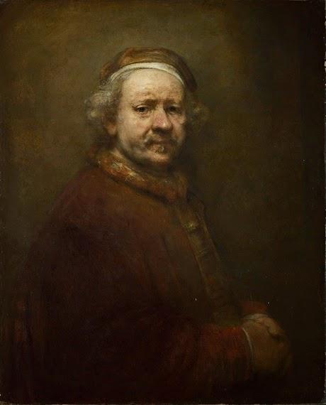 Rembrandt - Autoportrait à l'age de 63 ans ( 1669 )