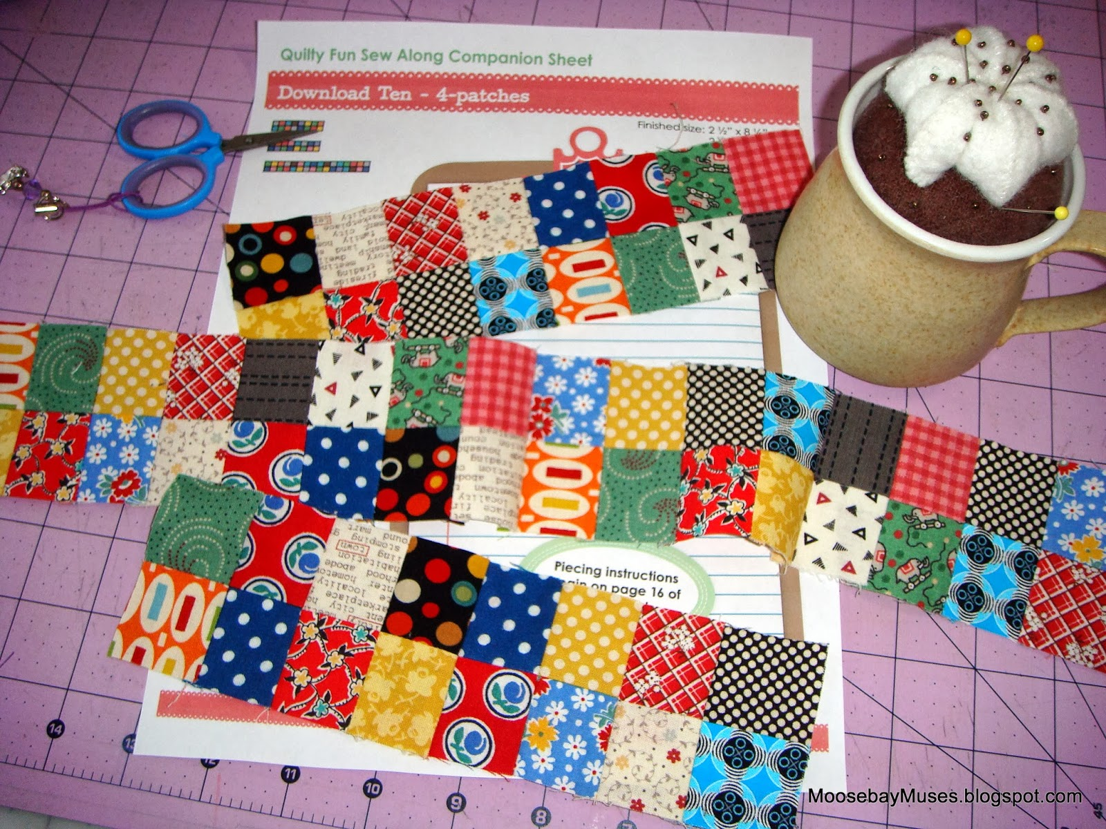 Quilty Fun Sew Along