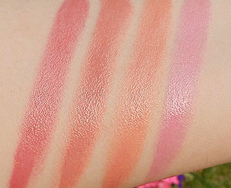 Mac lovelorn swatches