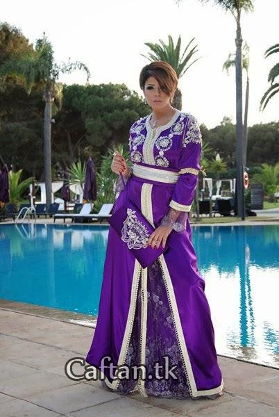 Collection Caftan marocain 2014 - Caftan moderne