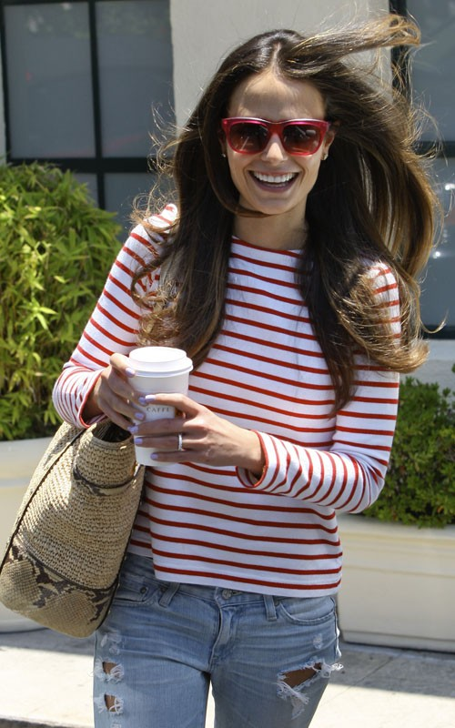 Gossip News ≫> Jordana Brewster: Dry Bar Beauty!