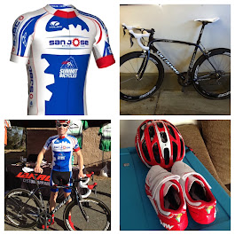 My Kit  and Bike for SJBC Racing 2014