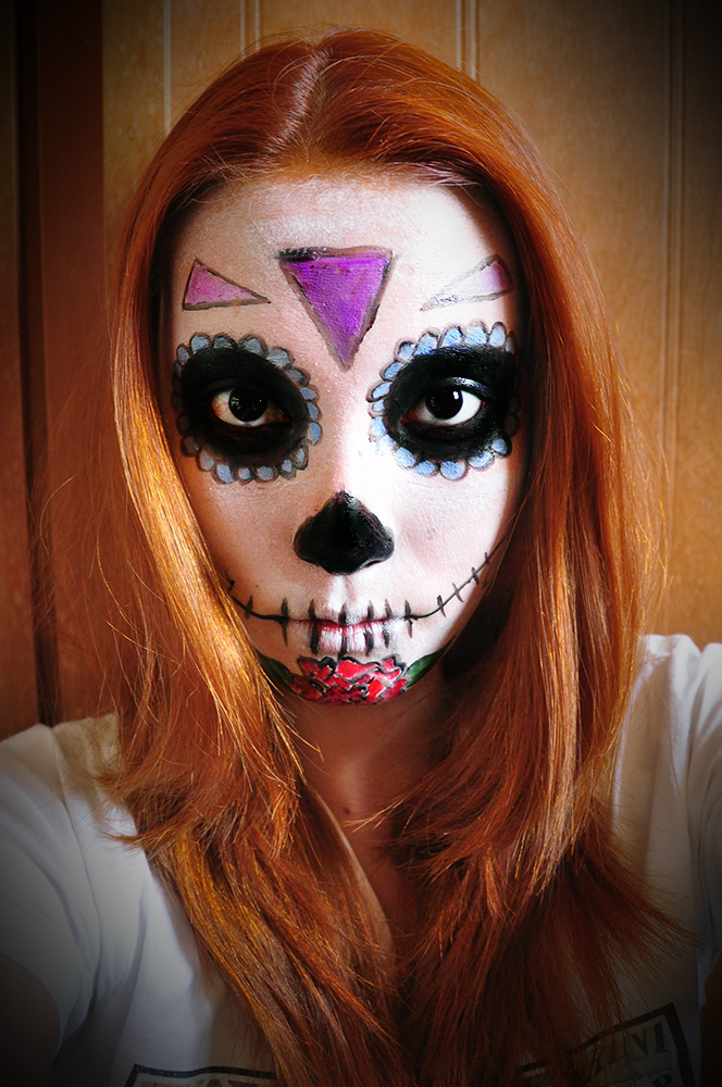 Pintura De Halloween. Cheap Maquillaje Artstico Maquillaje Infantil ...