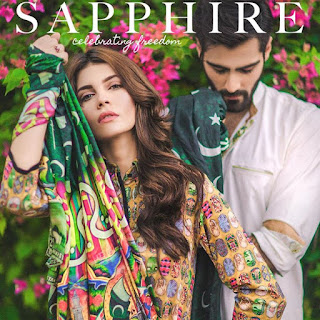 Sapphire Celebrating Freedom featured on August Issue 2015
