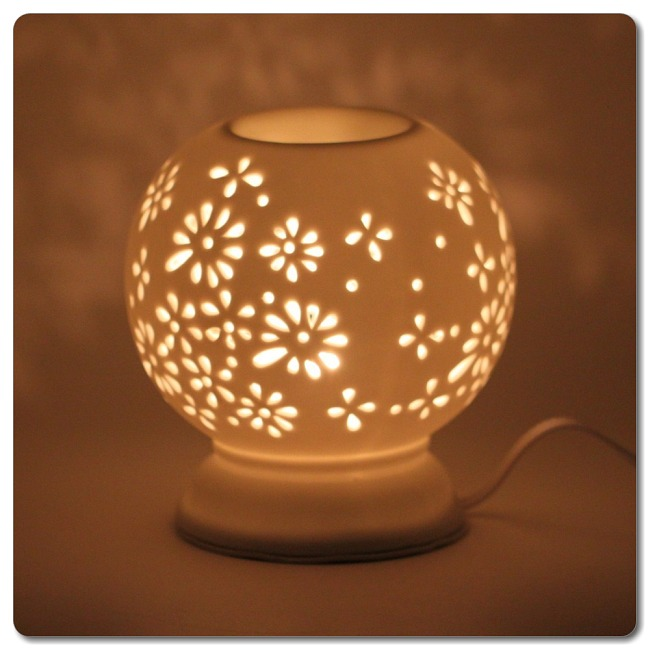 aroma lamp how to use