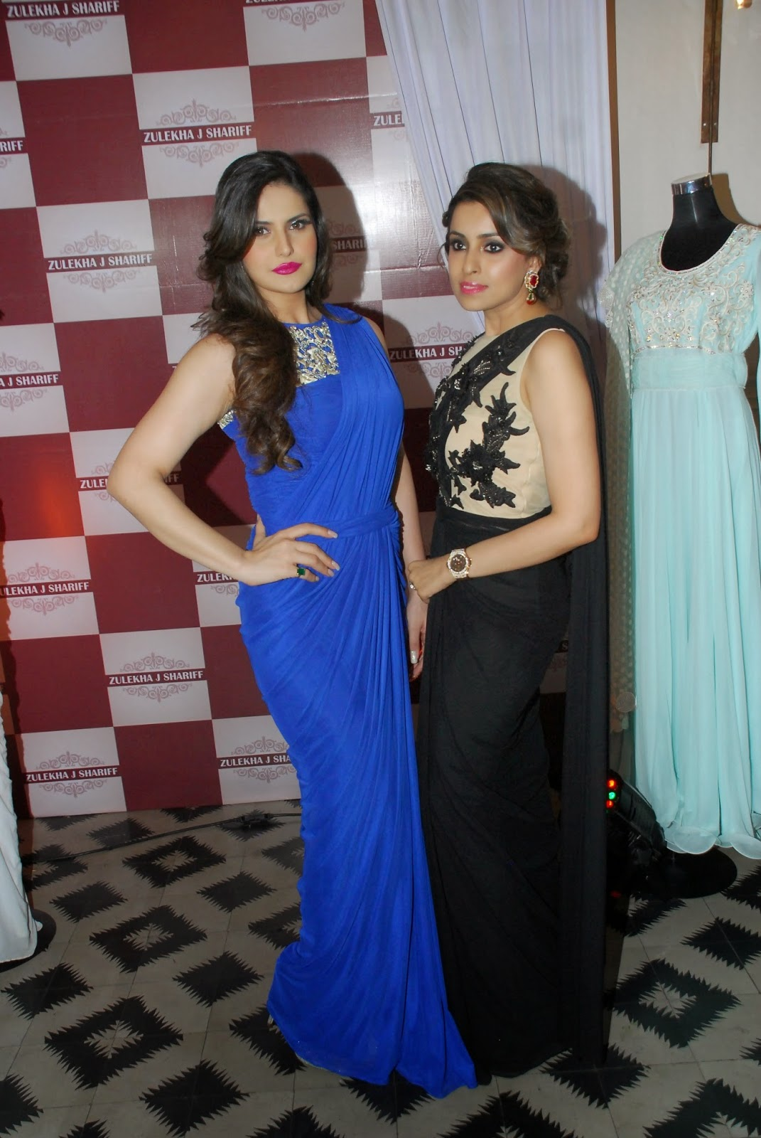 Zarine Khan at Zulekhans Collection Launch Photos