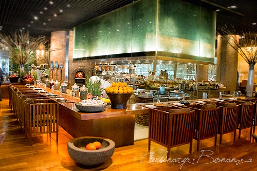 Grill Section at C's Steak & Seafood Restaurant, Grand Hyatt Jakarta