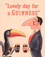 Lovely day for a guiness with bird and man