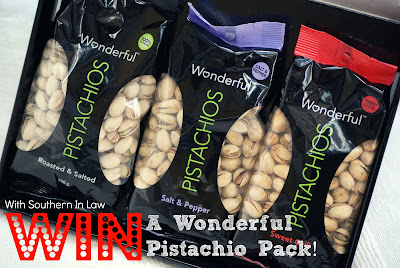 Wonderful Pistachio Giveaway - Get Crackin'