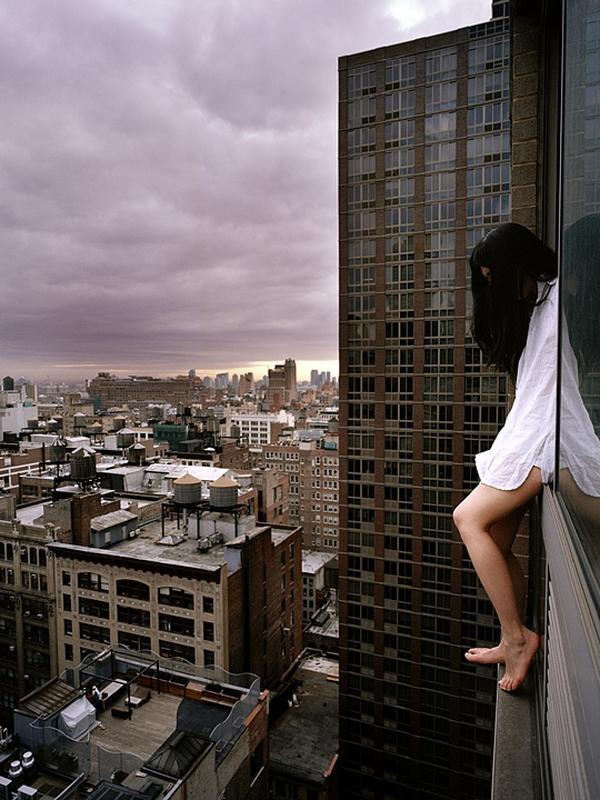 Ahn Jun. Death Defying Self-Portrait