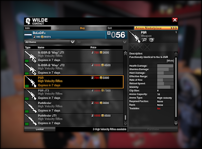 APB Reloaded - High-Velocity Rifles