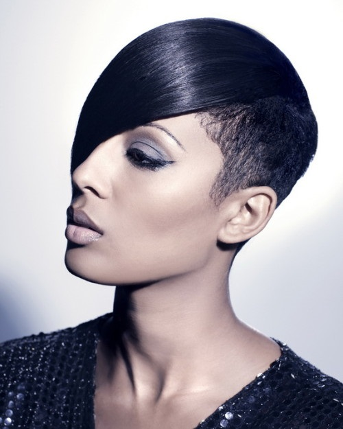 Edge Crop Hairstyles for Black Women with Short Hair
