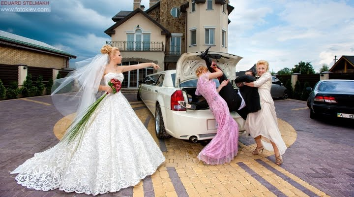 crazy wedding photo ideas