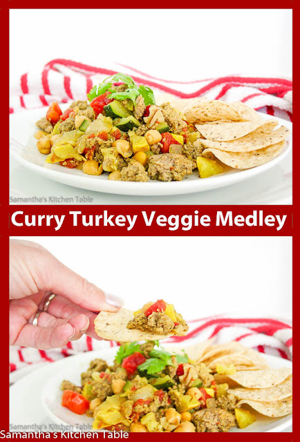 Curry Turkey Veggie Medley