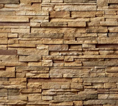 Pannelli di pietra ricostruita per interni