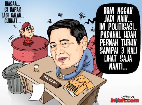 Rekaman pidato SBY  yang bocor ke media