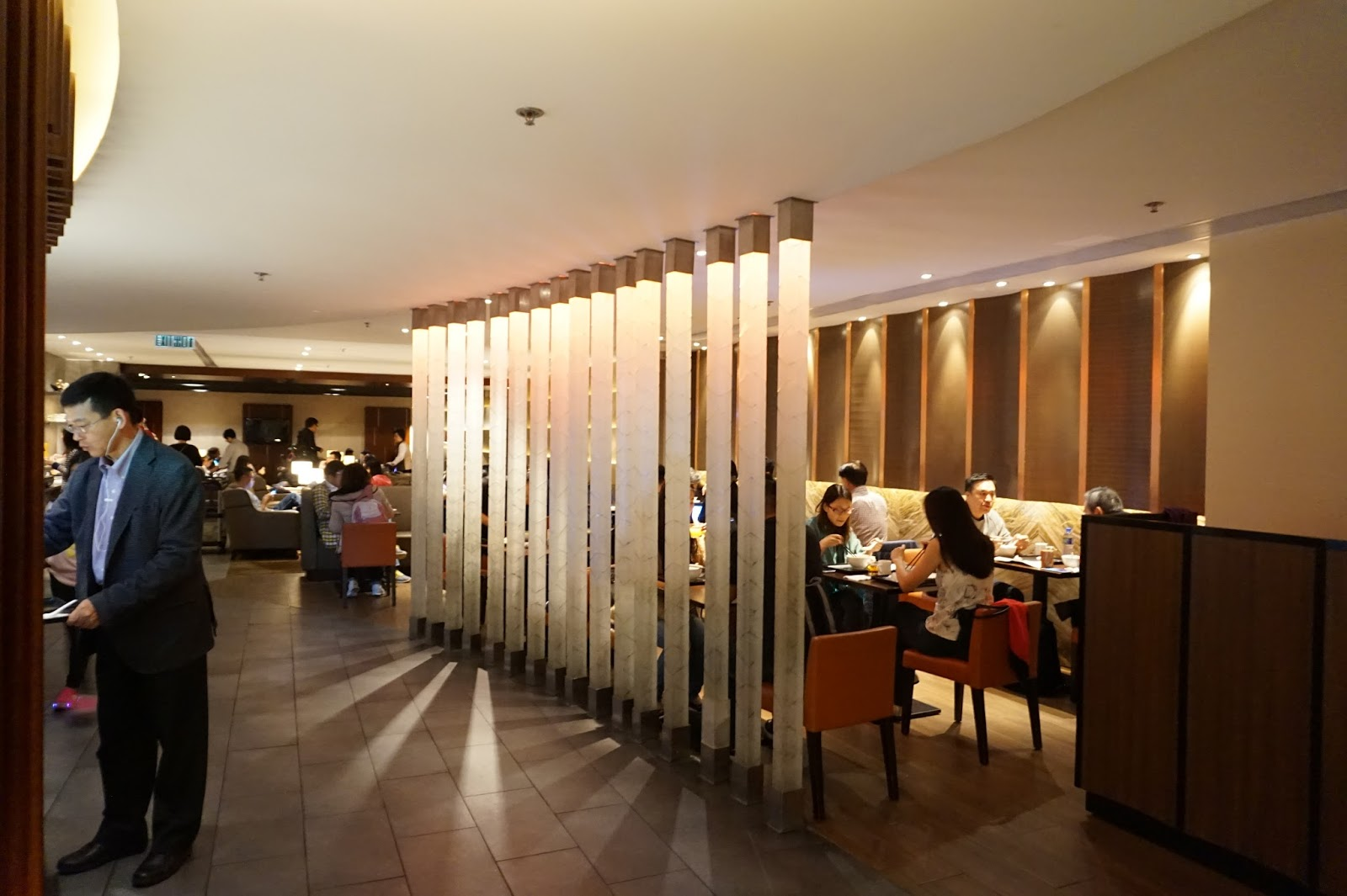 Free access to plaza premium lounge with citibank premier miles while this lounge might not look or sound as swanky as the business or first class cathay pacific lounges it does the job in providing entertainment reheart Images