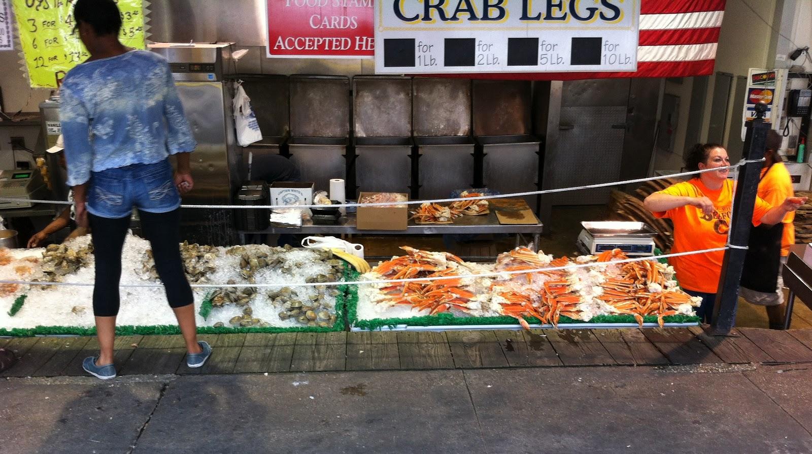 Wandering chopsticks dc maine avenue fish market captain for Maine avenue fish market