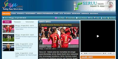 Seruu.com - Situs Portal Berita Interaktif