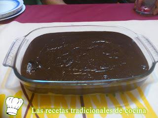 Receta del postre tradicional de la abuela o plat montat