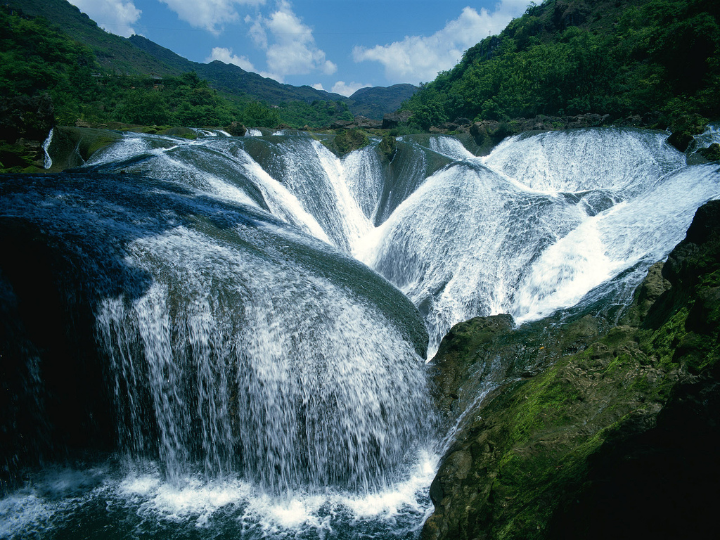 Cataracts Waterfalls In Africa