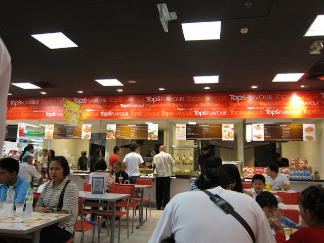 Food court in Chiangmai shopping mall