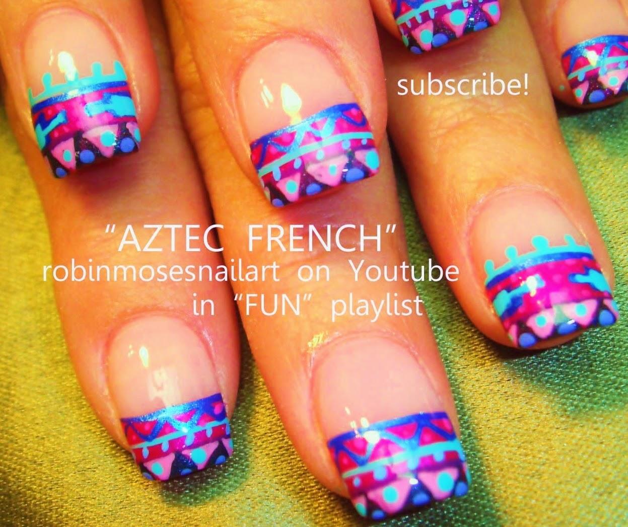 tribal nails\
