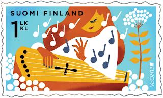 EUROPA CEPT 2014 - Dedicado a los instrumentos musicales FI-14-2