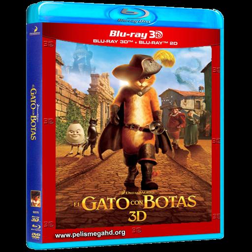EL GATO CON BOTAS (2011) 3D HALF OU 1080P BLU-RAY [X264] ESPAÑOL LATINO