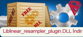 Liblinear_resampler_plugin.dll Hatası çözümü.