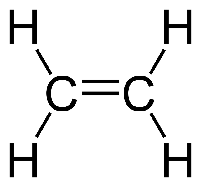 Lewis structure for c2h4
